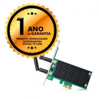 PLACA DE REDE PCI ADAPTADOR WIRELESS WIFI TP LINK 860MBPs 2G/5G