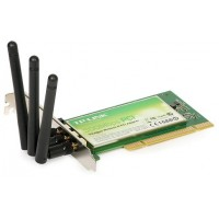 PLACA DE REDE PCI WIRELESS ADAPTADOR WIFI 300MBPS 2G