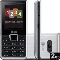 SMARTPHONE CELULAR 4 CHIPS LG Câmera 1.3MP,MP3
