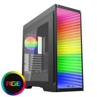 GABINETE ATX BLULED ICE EM ACRILICO USB 3.0 AUDIO HD 3 COOLER