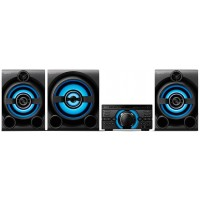 MINI SYSTEM SONY BOXBLUE 2100W HDMI DVD USB MP3 FM Bluetooth CD Player c/ Karaokê