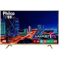SMART TV 55 PHILCO UHD 4K HDMI USB WIFI CONVERSOR DIGITAL