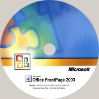 CD-R FRONT PAGE 2003 SOFTWARE MICROSOFT