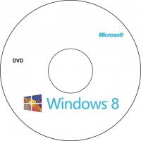 DVD-R WINDOWS 8 64 BITS - OEM - COPIA