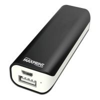 CARREGADOR PORTATIL DE BATERIA 3300 MAH USB MAXPRINT PLATINUM