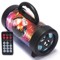 PORTATIL CAIXA DE SOM BRIWAX POLE 10W BLUETOOTH MP3 USB BIVOLT