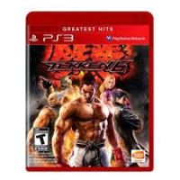 Jogo PS3 TEKKEN X STREET FIGHTER BLURAY COMPATIBLE