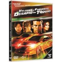 VELOZES E FURIOSOS - DESAFIO EM TOQUIO - DVD FILME