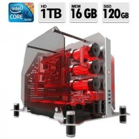 COMPUTADOR MINERACAO INTEL CORE i3 3X 4GB PLACA DE VIDEO 16GB RAM 1TB HD SSD 120GB WIN 10
