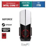 PC GAMER EASYPC INTEL CORE i7 3.8GHZ ASUS GEFORCE 6GB 16GB RAM 1TB HD FONTE 500W