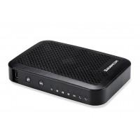 MODEM / ROTEADOR NET WIFI 4X RJ45 2 LINHAS C/ PORTA USB
