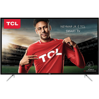 SMART TV TCL LED 49 POLEGADAS FULL HD CONVERSOR DIGITAL 03 HDMI 02 USB WI-FI