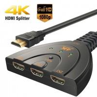 EXTENSOR HDMI ATE 60 METROS TV 3D CABO UTP REDE