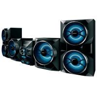 MINI SYSTEM SONY DJ BAZUCA DUO USB NFC BLUETOOTH MP3 AM/FM CD 1800W
