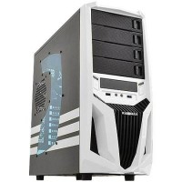 GABINETE GAMER WHITE ATX 4 BAIAS c/ USB 3.0