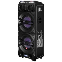 CAIXA DE SOM JBL 400W RMS EFEITOS DJ BLUETOOTH ENTRADAS USB E AUX