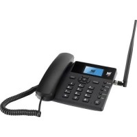 TELEFONE CELULAR FIXO GSM RURAL DE MESA BEDIN 3G SUPORTE PARA 1 CHIP DESBLOQUEADO
