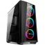 GABINETE GAMER C3 TECH USB 3.0 TRES VENTOINHAS RGB LATERAL EM ACRILICO