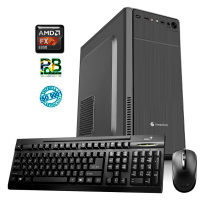 PC AMD FX6 4GB RAM HD 1TB WIN 10 VIDEO GFORCE
