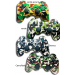KIT 02 CONTROLES PS3 WIRELESS MILITARY GAMMER