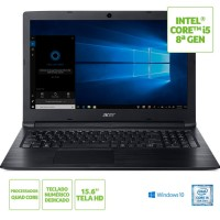 NOTEBOOK ACER INTEL CELEROM 4GB RAM HD 500GB TELA 15 WIN 10