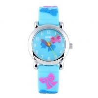 Relógio Skmei Analógico Azul à prova d'agua 3ATM