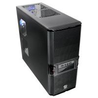 GABINETE GAMER ATX 4 BAIAS + 2 USB FRONTAL PRETO