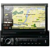 DVD AUTOMOTIVO 1 DIN 7.0 RETRATIL NAPOLI SD USB BLUETOOTH TV DIGITAL GPS
