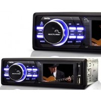 SOM AUTOMOTIVO MULTILASER MP5 USB CARTÃO SD FM TELA DE 3'