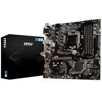 PLACA-MAE MSI INTEL LGA 1151 DDR4 VGA DVI-D HDMI USB 3.1