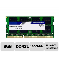 MEMORIA P/ NOTEBOOK 8GB DDR3L KLLISRE 1600MHZ 2RX8 DUAL RANK