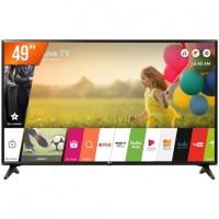 SMART TV LED 49 FULL HD LG C/ IPS THINQ AI WIFI QUAD CORE E HDR C/ INTELIGENCIA ARTIFICIAL