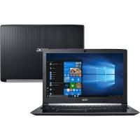 NOTEBOOK ACER INTEL CORE i5 4GB RAM 1TB HD LED 15.6 WIN 10 – PRETO