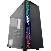 GABINETE GAMER CIRKUIT LED RGB C/ USB 3.0