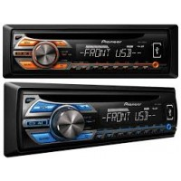 SOM AUTOMOTIVO PIONEER MEDIA PLAYER c/ FRENTE REMOVIVEL