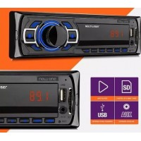 RADIO MP3 PLAYER AUTOMOTIVO MULTILASER BLUETOOTH USB SD AUX MP3 FM