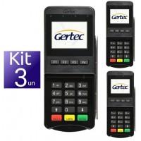 KIT LEITOR DE TARJA PINPAD USB/SERIAL C/ QR CODE - 03 UND