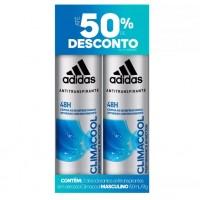 DESODORANTE ADIDAS CLIMACOOL AEROSOL MASCULINO 150ML 02 UND