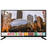 SMART TV LED 24 HDMI USB WIFI CONVERSOR DIGITAL C/ VGA