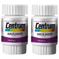 SUPLEMENTO MULTIVITAMÍNICO CENTRUM  MULHER - 2 FRASCOS