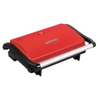 GRILL ARNO ANTIADERENTE 760W - RED