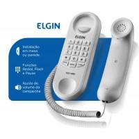 TELEFONE GONDOLA COM FIO ELGIN - PRETO