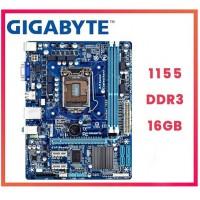PLACA MÃE SOCKET 1155 GIGABYTE DDR3 INTEL CORE i3/i5/i7 AUDIO HD PCI 3.0 (OEM)