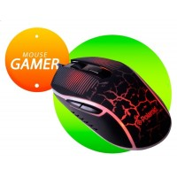 MOUSE OPTICO USB GAMMER SPIDER 2400 DPI USB 2.0