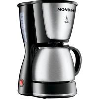 CAFETEIRA MONDIAL INOX 550W 30 XICARAS - PRETA