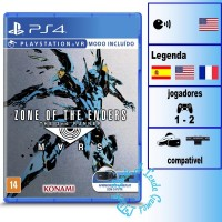 JOGO PS4 ZONE OF THE ENDERS MARS