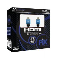 CABO HDMI 4K HDR PIX 19 PINOS 20M