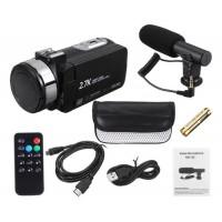 CAMERA PROFISSIONAL FULL HD NIGHT VISION P/ YOUTUBERS 24MP