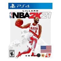 JOGO P/ VIDEO GAME DE BASQUETE NBA PS4 2K 21 45.36GB
