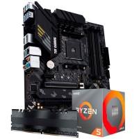 KIT UPGRADE AMD RYZEN 5 - ASUS B550M-PLUS - MEMÓRIA 8GB DDR4 (2X4GB)